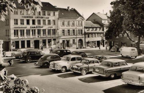 Ritterplatz 1960