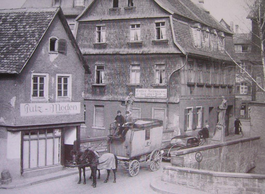 Mittelbrücke 1950