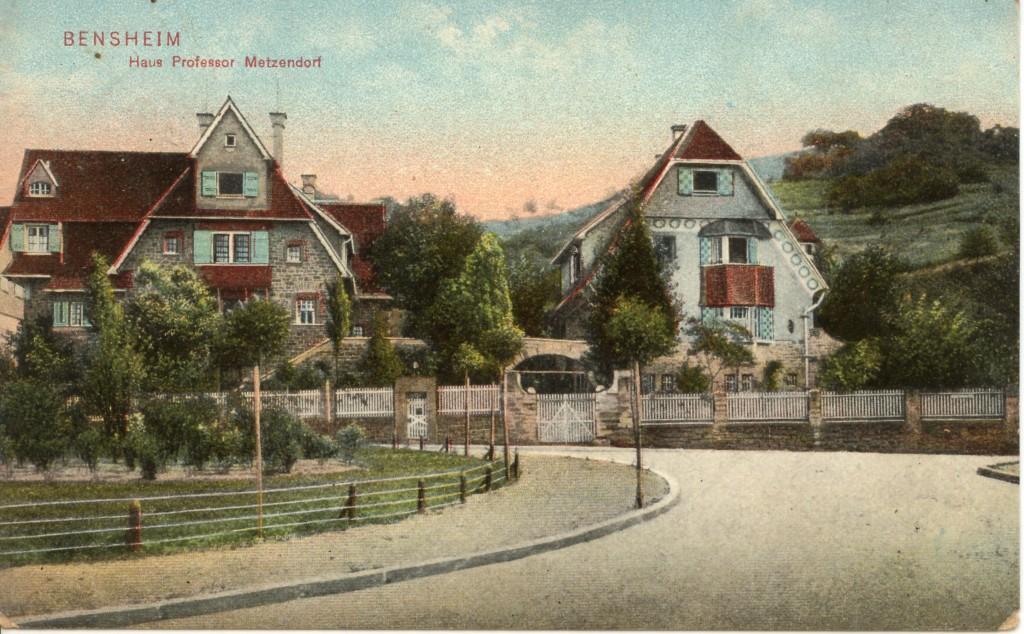 Bismarckplatz, Haus Metzendorf 1909