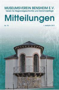 """Die neuen """"Mitteilungen"""" des Museumsvereins sind erhältlich."""