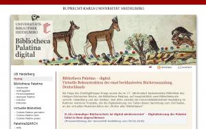 Bibliotheca palatina digital