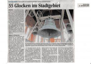 55 Glocken im Stadtgebiet